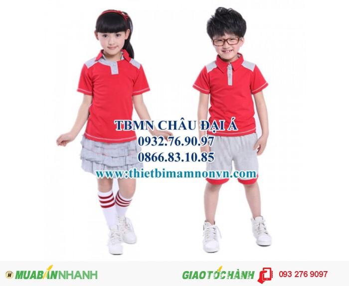 Đồng phục cho học sinh mầm non , đồng phục cho bé5