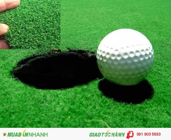 Lưới golf công trình, lưới xây dựng sân tập golf, bóng golf 1 lớp, bóng nổi, tee