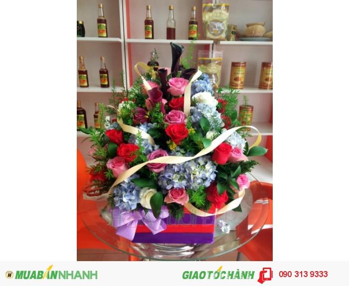 Hoa Chúc Mừng CM122, giá 670.000đ0