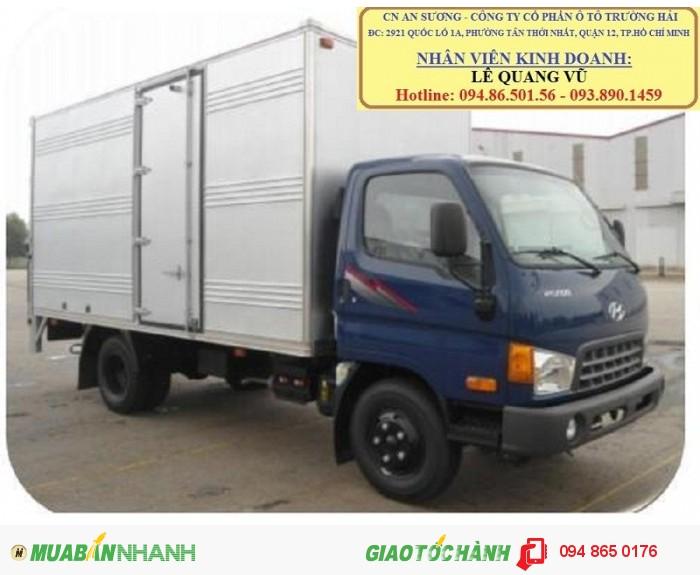Chuyên bán Hyundai Thaco 5 tấn hd500,thaco hyundai hd650 6,5 tấn tại tphcm, xe tải hyundai TP.HCM