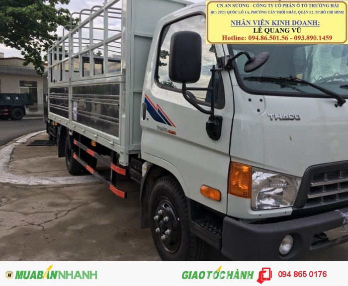 Hyundai Trường Hải An Sương, cung cấp Hyundai tải TP.HỒ CHÍ MINH, Xe tải nâng tải 6.4 tấn trường hải Thaco