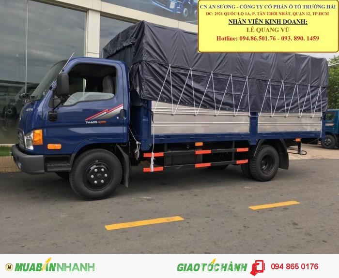 Hyundai Trường Hải An Sương, cung cấp Hyundai tải TP.HỒ CHÍ MINH, Xe tải nâng tải 6.4 tấn trường hải Thaco 4