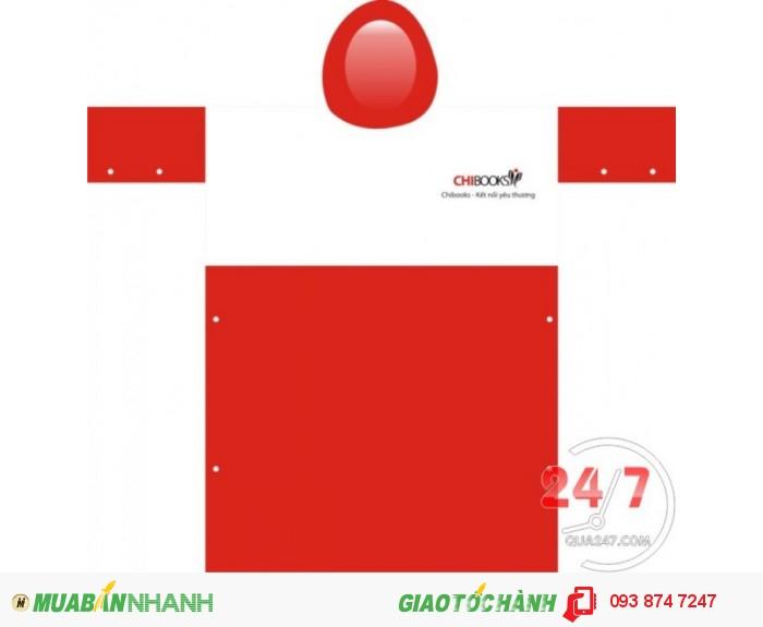 Áo mưa in logo quảng cáo - quà tặng doanh nghiệp - cty quà 247