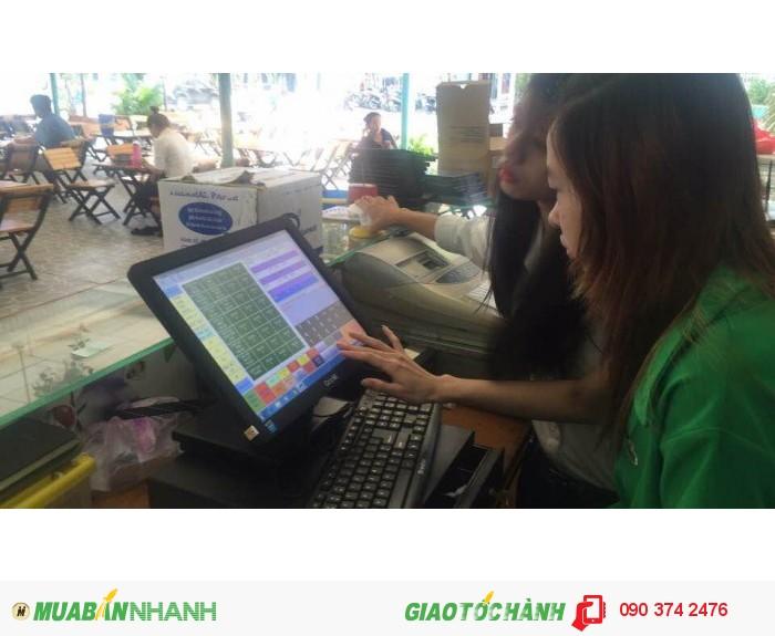 Máy tính tiền cảm ứng giá rẻ cho Shop quần áo tại Tây Ninh1