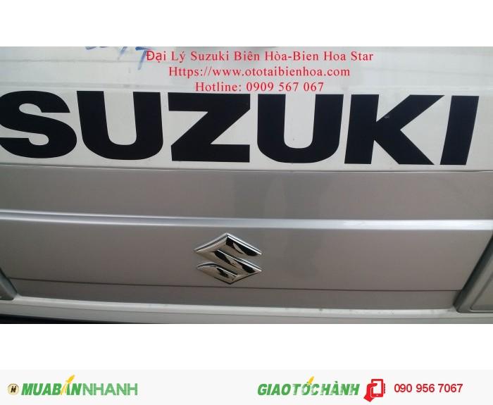 Xe tải nhỏ suzuki carry 550kg thùng kín inox đời 2016