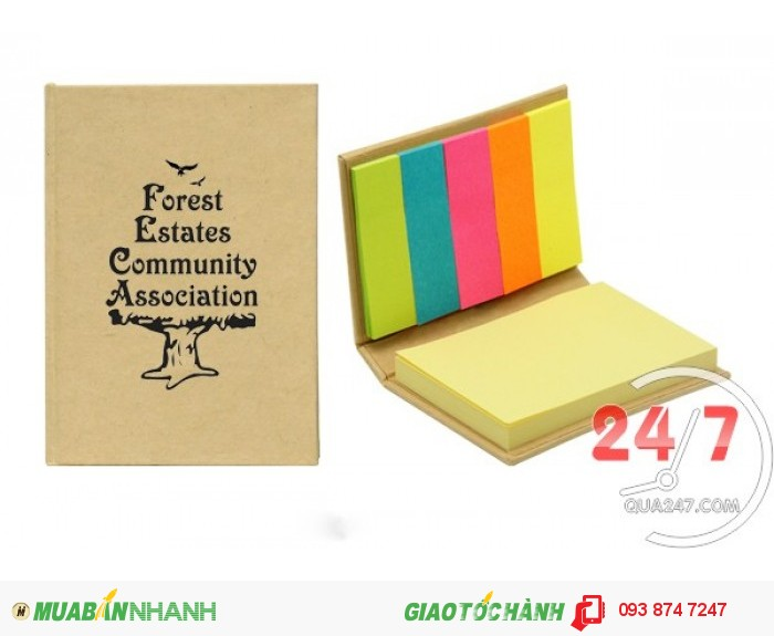 Sổ tay - quà tặng doanh nghiệp - in ấn theo yêu cầu - giá tốt