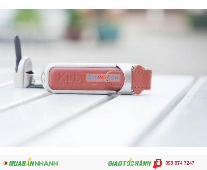 USB da sang trọng và cá tính in ấn logo công ty quà tặng quảng cáo giá cạnh tranh