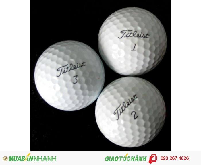 Bóng chơi golf các loại giá rẻ, bóng golf titleist pro