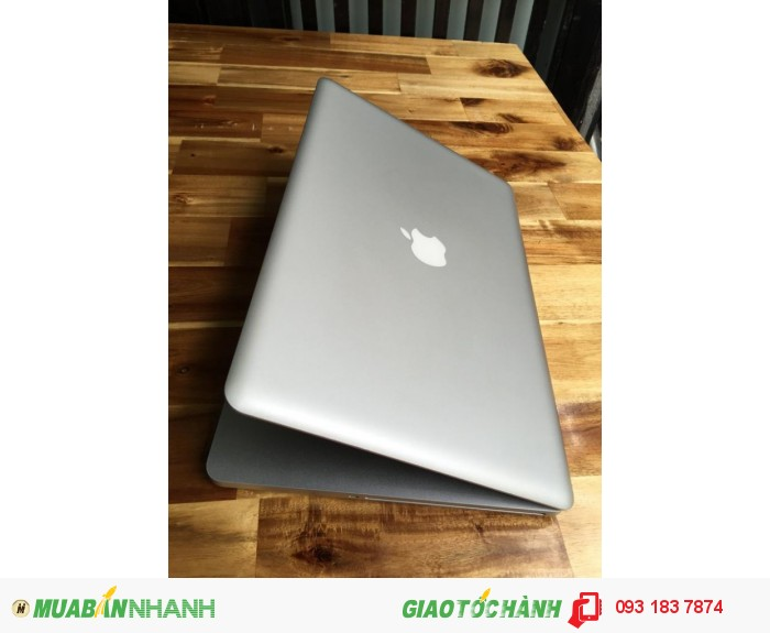 Laptop Macbook pro MC723, i7 quadcore 2.2G(8cpus), 8G, 500G, vga1G, 99%, giá rẻ