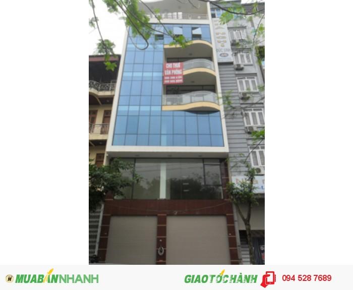 Bán nhà mặt phố Nghi Tàm, DT 90m x 4.5 tầng, mt 5.7m, giá 15.1 tỷ