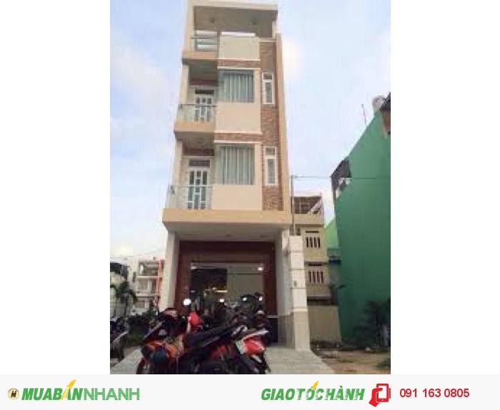 Bán Nhà 8.2 tỷ, 4x17.5m, MT đường Gò Dầu, Q.Tân Phú
