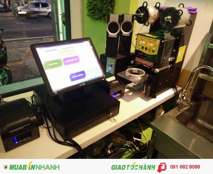 Máy tính tiền cảm ứng bán tại Bình Phước0