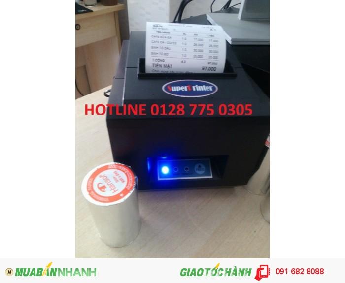 Máy in hóa đơn in bill bán tại Bình Phước0