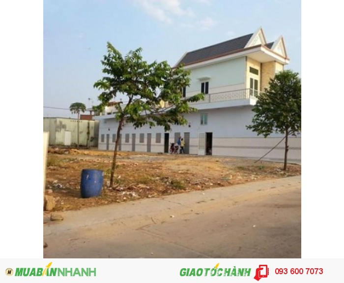Nền đất xây dựng ngay 68m QL 1A cách chợ Bình Chánh 4km Sổ hồng riêng 115tr