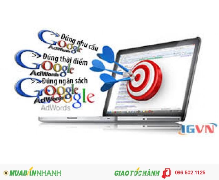 Quảng cáo google ad, giá rẻ
