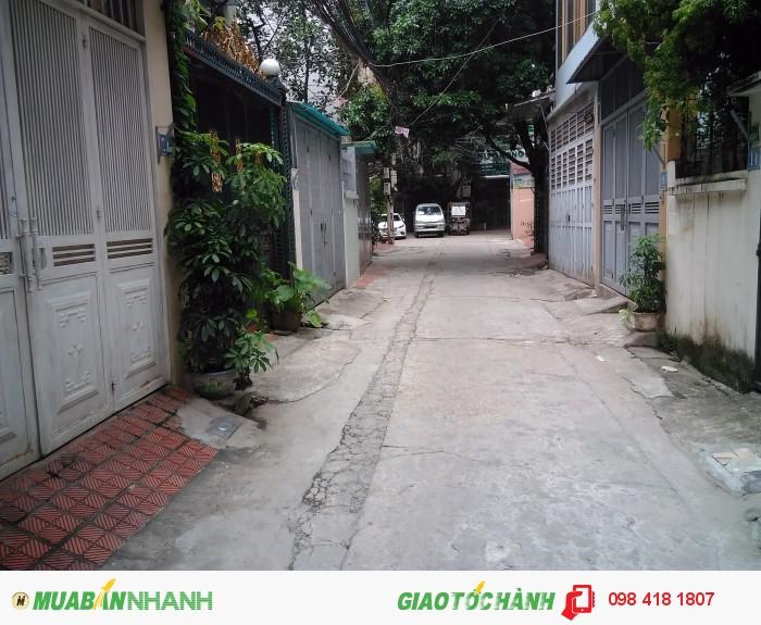 Bán nhà ngõ 2 Vương Thừa Vũ, Khương Trung, Thanh Xuân, Hà Nội 50m2, giá 5,35 tỷ, KD, ô tô vào nhà.