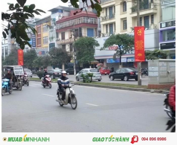Bán đất chính chủ mặt Phố Mỹ Đình - Lê Đức Thọ, quận Nam Từ Liêm 182m2 MT 16m 240tr/m2