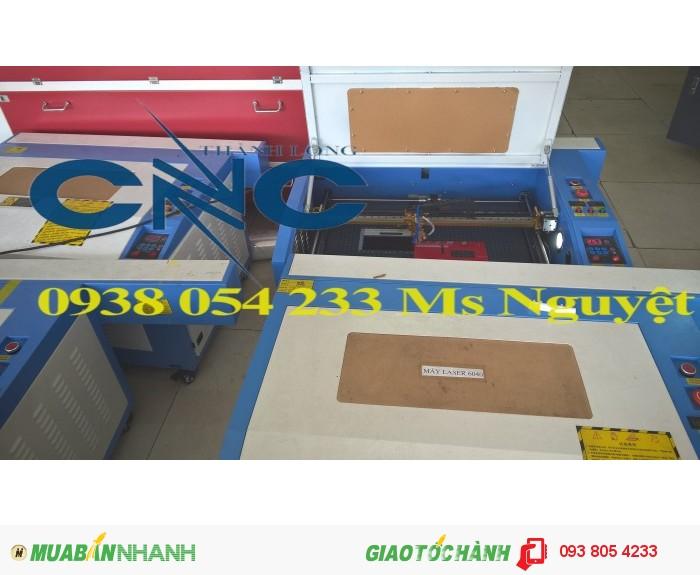 Máy laser 6040 cắt khắc thiệp