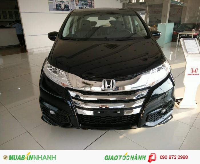 Honda Odyssey màu đen 2016 nhập Nhật, tặng ngay 20 triệu, hỗ trợ cho vay lên đến 85% giá trị xe, thủ tục nhanh gọn