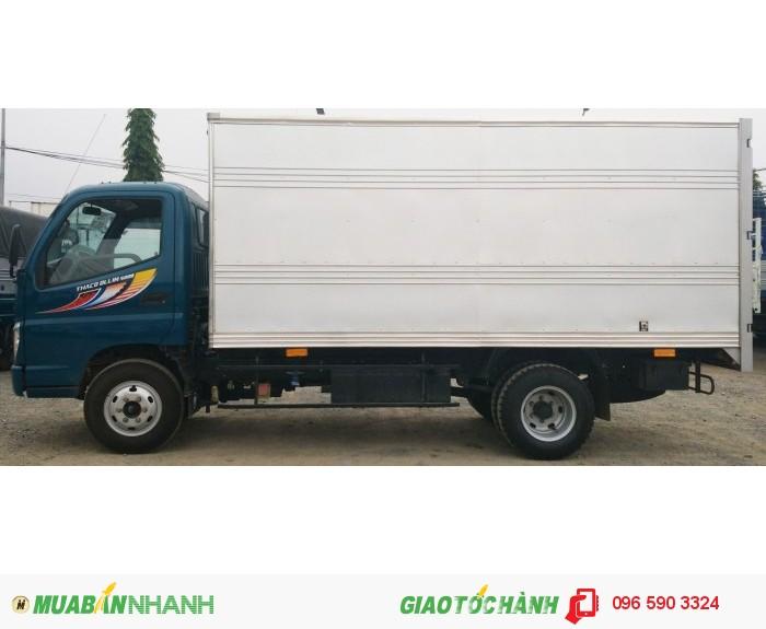 Xe tải Trường Hải thùng kín 5 tấn, 7 tấn, 8 tấn, 9 tấn tại Hà Nội