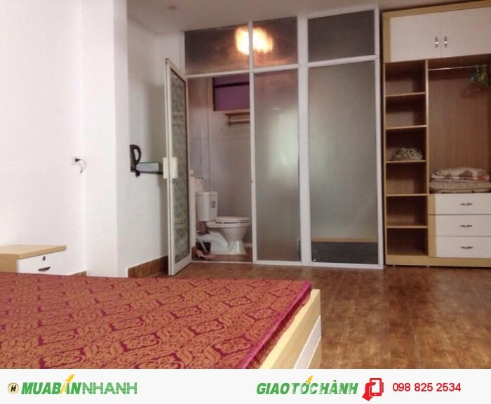 Cho thuê căn hộ dịch vụ tại 535 Kim Mã, 200usd/tháng full nội thất