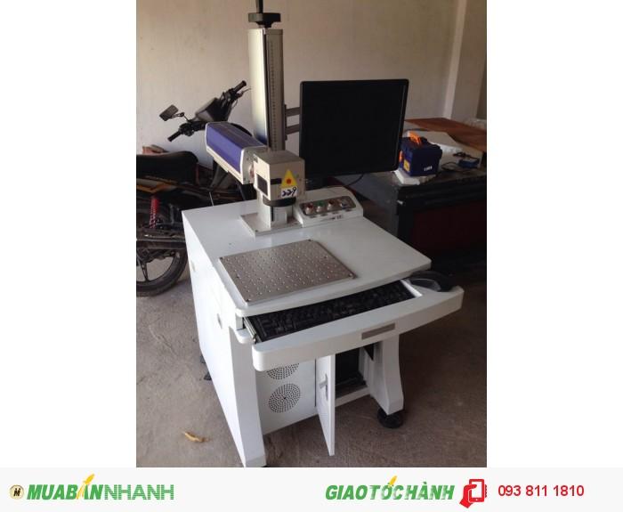 Máy laser fiber, máy khắc kim loại, máy khắc nhãn mác