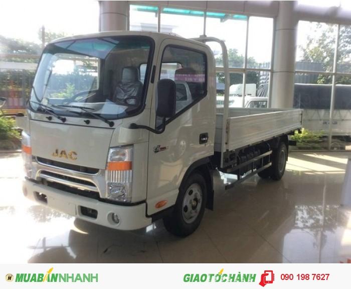 Xe jac tải nhẹ 4 tấn 9 cabin đầu isuzu | xe tải  jac 4950 ld 4 tấn 9 động cơ công nghệ isuzu