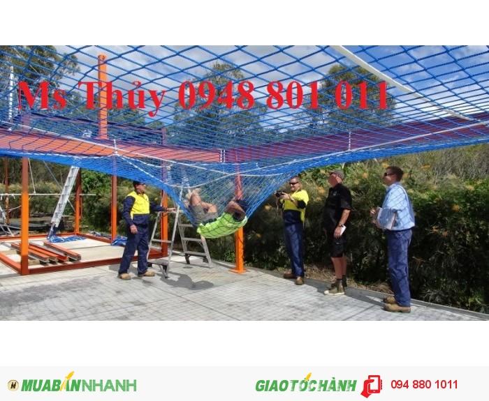 Lưới bao che xây dựng cầu đường, lưới chắn vật rơi đảm bảo an toàn cho công trình xây dựng, 9