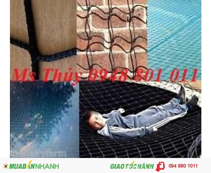 Lưới bao che xây dựng cầu đường, lưới chắn vật rơi đảm bảo an toàn cho công trình xây dựng, 11