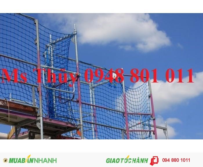 Lưới bao che xây dựng cầu đường, lưới chắn vật rơi đảm bảo an toàn cho công trình xây dựng, 12