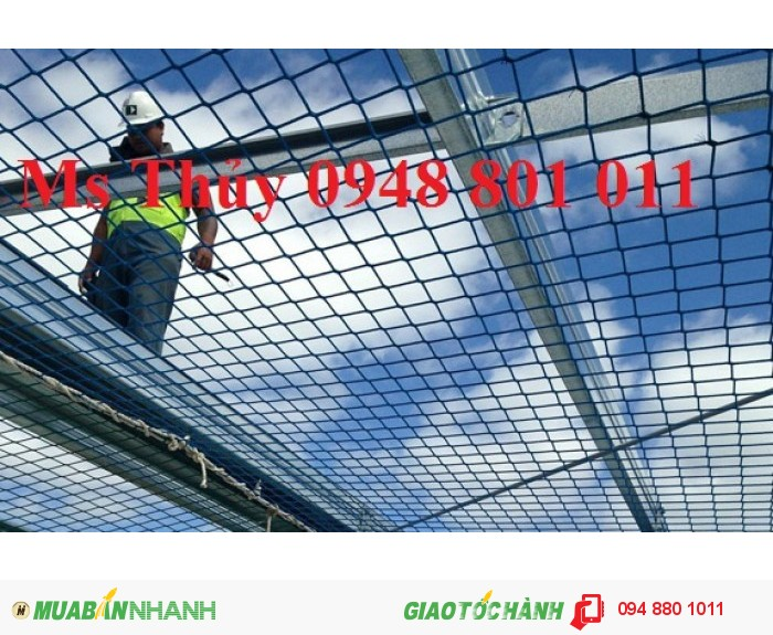 Lưới bao che xây dựng cầu đường, lưới chắn vật rơi đảm bảo an toàn cho công trình xây dựng, 17