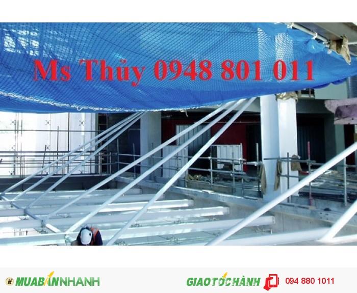 Lưới bao che xây dựng cầu đường, lưới chắn vật rơi đảm bảo an toàn cho công trình xây dựng, 18