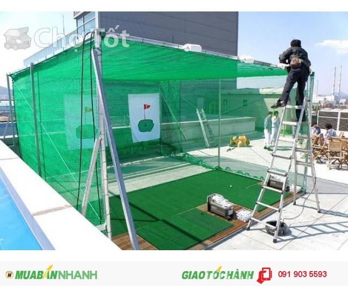 Cung cấp và thi công lưới: lưới bao che, lưới an toàn, lưới chống rơi, lưới golf
