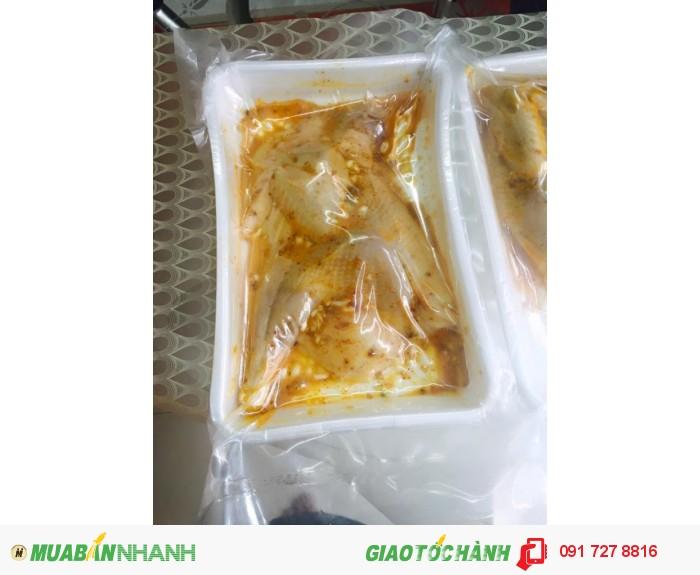 Bán gà mái dầu làm sạch, tẩm ướp vừa ăn