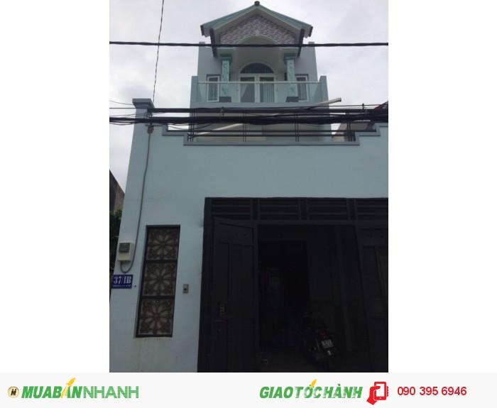 Nhà 37/1B Phan Huy Ích, phường 14, Gò Vấp, HXH 5m, 5x18m, 1Trệt+2lầu, 4PN, 5WC, Tây Bắc