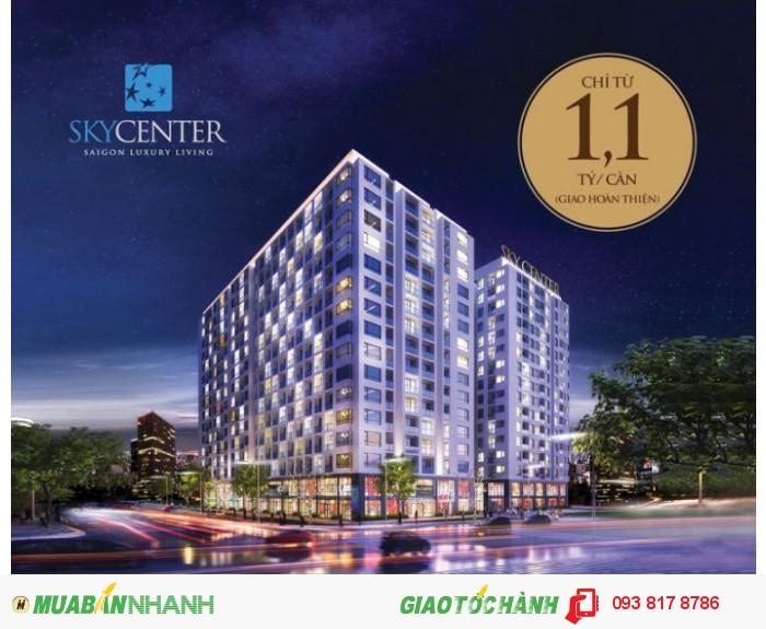 Căn hộ chung cư SkyCenter giá rẻ Phổ Quang Tân Bình,giao nhà Qúy II/2017