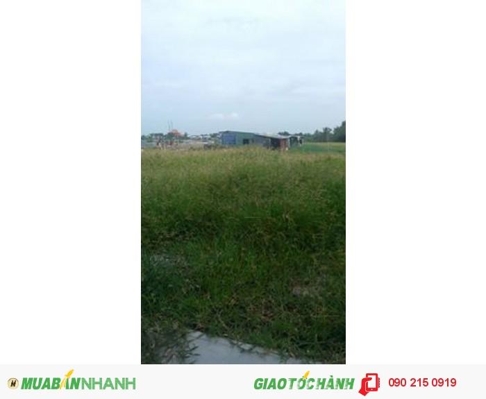 đất thổ cư 100%,MT Đường nguyễn Văn Linh gần chợ  Bình Chánh,đường 32m thuận lợi đi vào TPHCM LH 0902 150 919