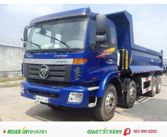 Xe ben Auman 3 chân tải trọng 13 tấn, 4 chân tải trọng 17,3 tấn hỗ trợ hồ sơ vay vốn ngân hàng tới 80% giá trị xe lãi suất thấp
