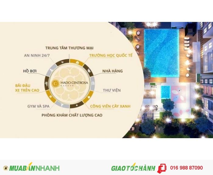 Hà Đô căn hộ mặt tiền 3/2 trung tâm q10,bộ quốc phòng đầu tư