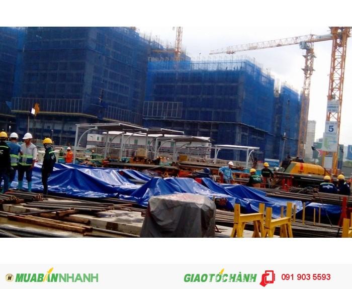 Phụ kiện bảo hộ lao đông cho công trình: lưới, lưới nhựa, lưới dù, lưới 2.5cm1