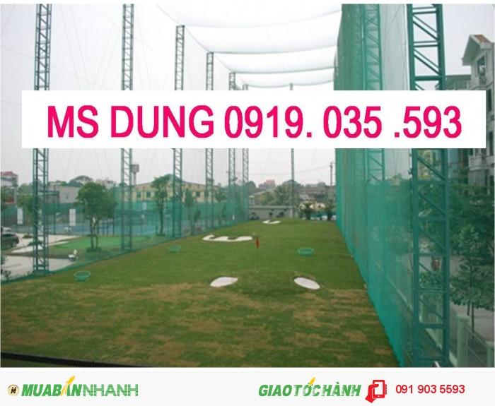 Phụ kiện bảo hộ lao đông cho công trình: lưới, lưới nhựa, lưới dù, lưới 2.5cm6