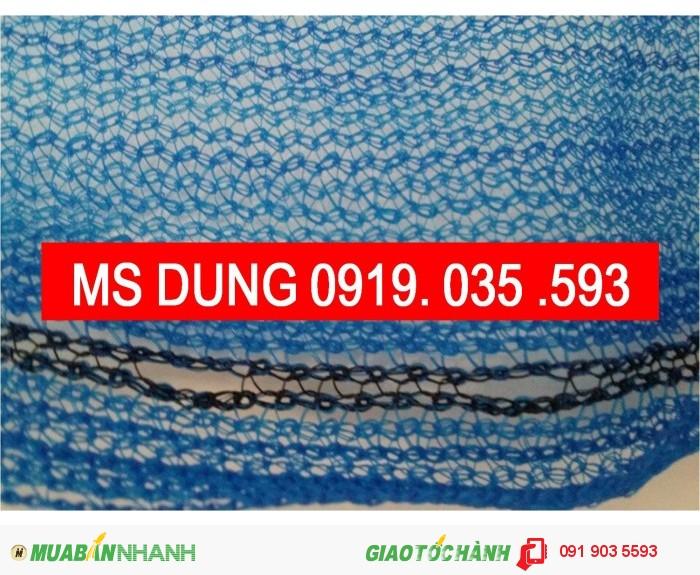 Phụ kiện bảo hộ lao đông cho công trình: lưới, lưới nhựa, lưới dù, lưới 2.5cm7