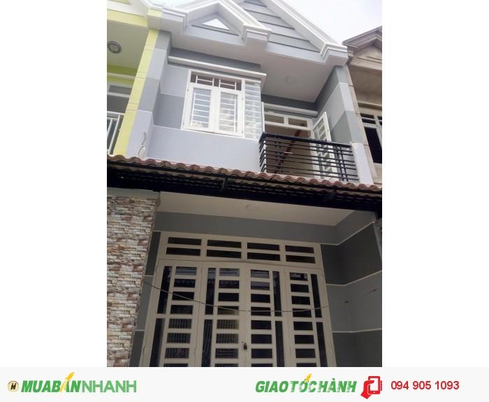 Nhà 1 trệt 1 lầu,  ấp 5 Vĩnh Lộc B, BC, 4x14m
