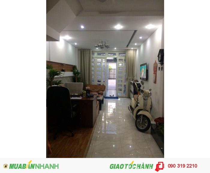 Nhà 3 lầu chính chủ, dt 4x18m, hẻm xe hơi 6m đg Quang Trung