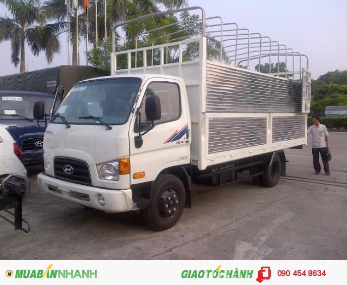Xe tải nhập khẩu Hyundai HD78 4 tấn 5
