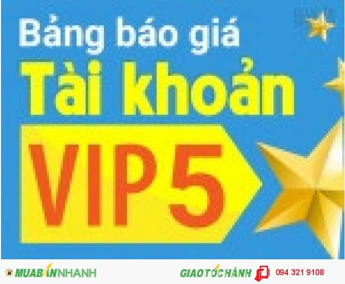Tăng doanh thu với tài khoản VIP 5.