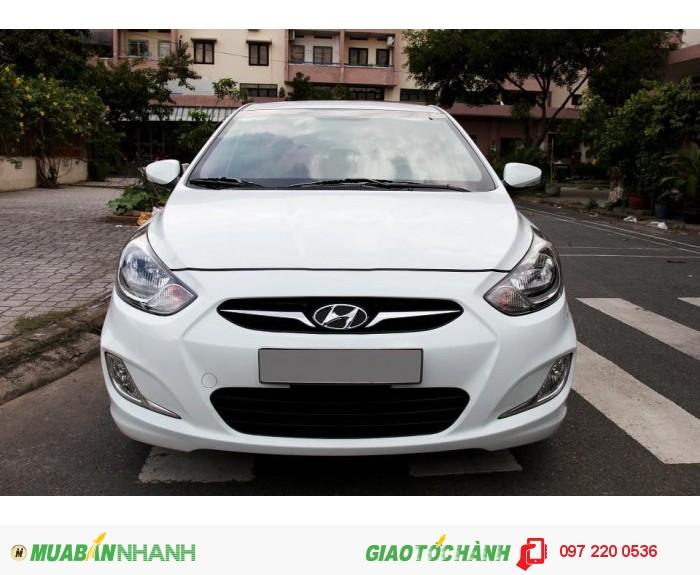 Bán Hyundai Accent 1.4AT xe nhập nguyên con màu trắng 2