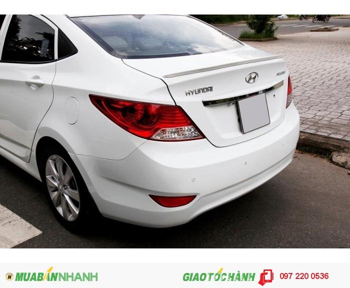 Bán Hyundai Accent 1.4AT xe nhập nguyên con màu trắng 5
