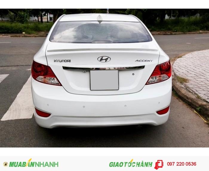 Bán Hyundai Accent 1.4AT xe nhập nguyên con màu trắng 6