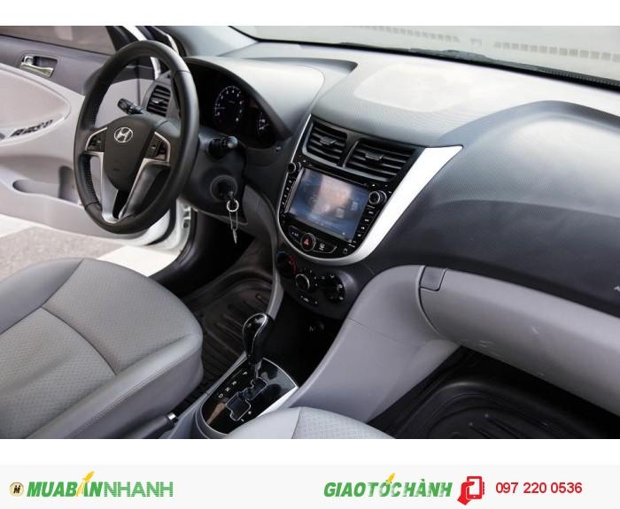 Bán Hyundai Accent 1.4AT xe nhập nguyên con màu trắng 7